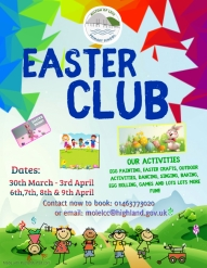 Easter Club Poster